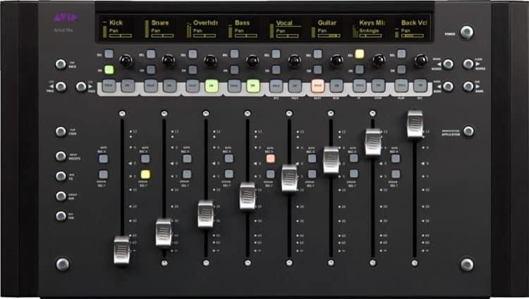 DAW Controller - Avid Artist Mix