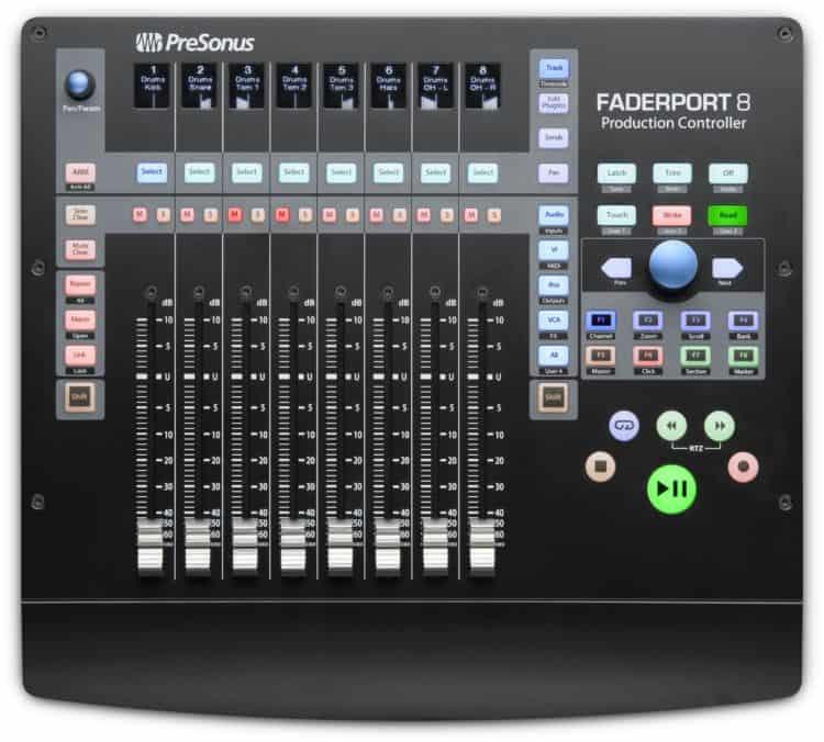 DAW Controller - PreSonus FaderPort 8