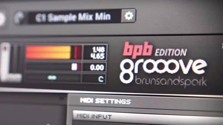 Grooove BPB Drum-Sampler