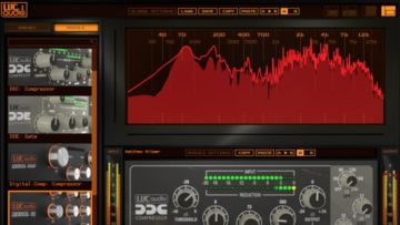 Das Userinterface des LVC-Audio T-Chain ist funktionell und übersichtlich.