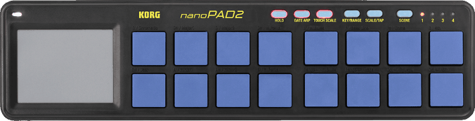 Podcast Equipment - KORG nanoPAD2