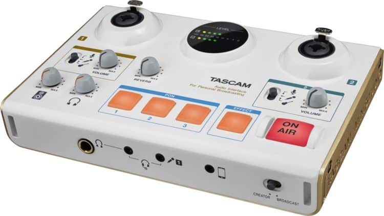 Podcast Equipment - Tascam MiNiSTUDIO Creator US-42