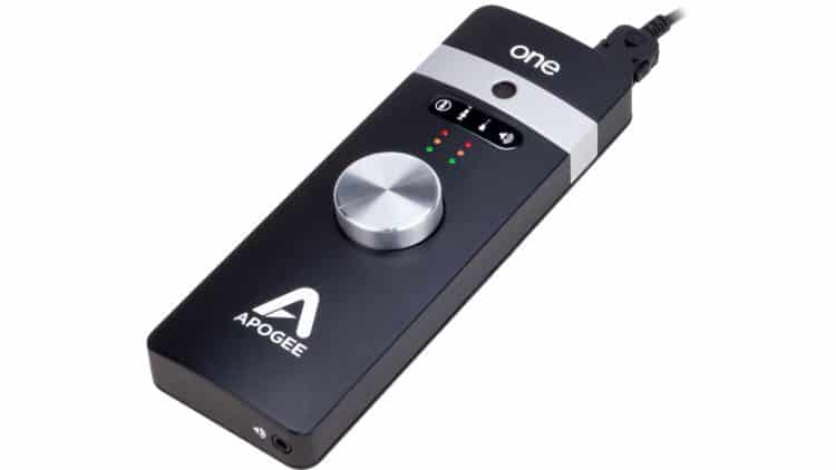 Songwriter's Equipment - Apogee ONE for iPad & Mac - Audio Interface