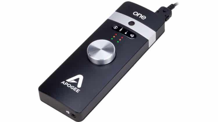 Songwriter's Equipment - Apogee ONE for iPad & Mac - Audio Interface