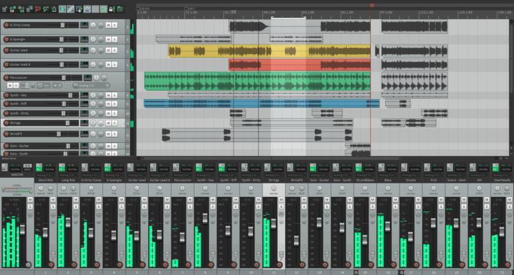 Song Writing Gear - Reaper - DAW-Software