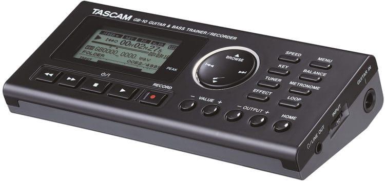 Songwriter Tools - Tascam GB-10 - Trainer für Gitarre & Bass