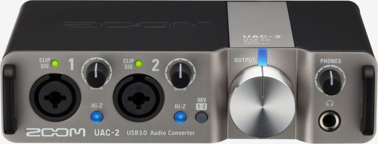 Song Writer Gear - Zoom UAC-2 - Audio Interface
