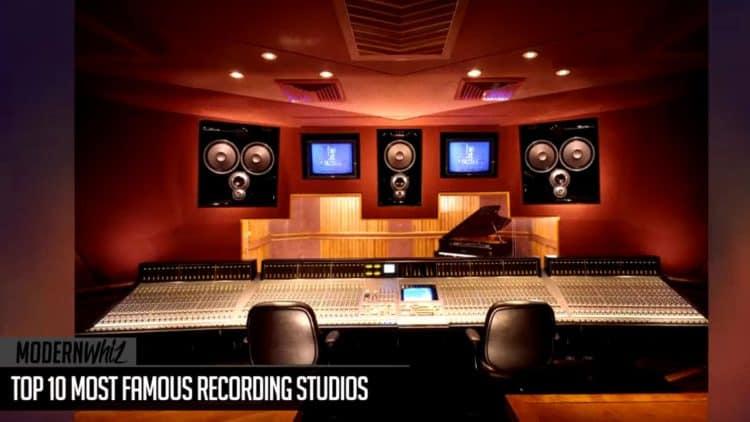Die 10 legendärsten Recording-Studios der Welt.