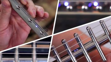 Die Gittler-Guitar erinnert mehr an eine Fischgräte.