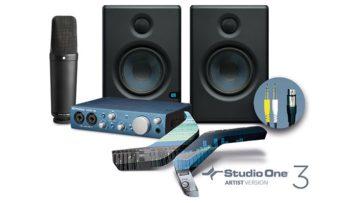 Die Komponenten des Presonus Recording Bundles