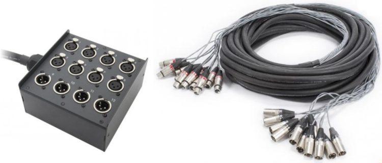 Audiokabel - Multicore - Stagebox vs. Loom