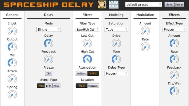 Das Spaceship Delay hat mehr zu bieten, als es auf den ersten Blick erahnen lässt.
