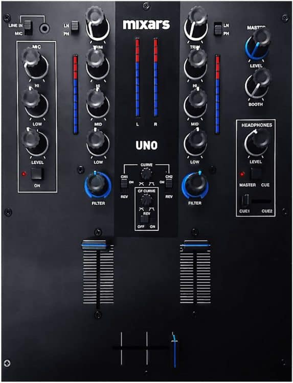 DJ-Mixer Mixars Uno