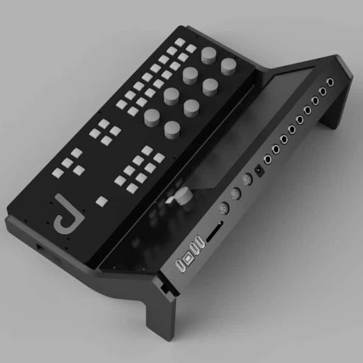 Percussa Synthor System 8 - Anschlüsse
