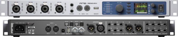 Editor's Choice: NAMM 2017 Highlights - RME Fireface UFX II