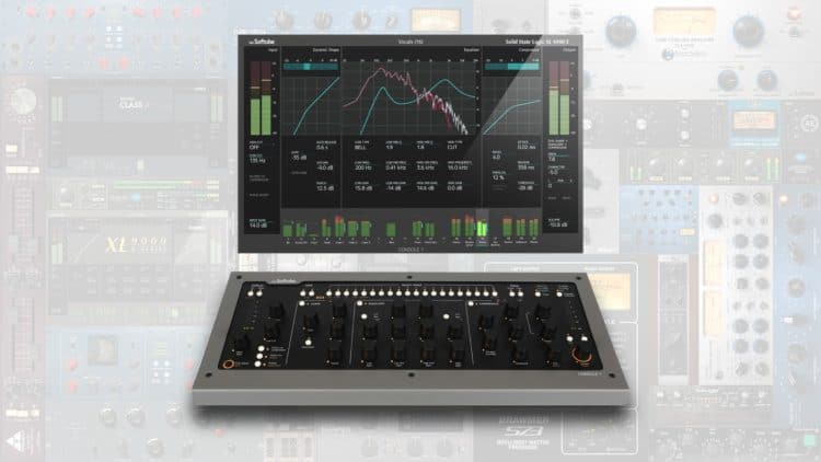 Editor's Choice: NAMM 2017 Highlights - Softube Console 1 Mk II