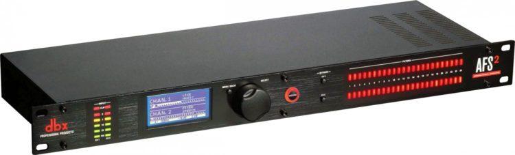 Feedback aka akustische Rückkopplung vermeiden mit einem Feedback-Controller - dbx AFS2