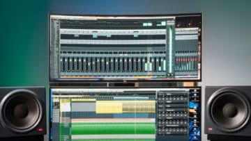 Bildschirm für Musiker