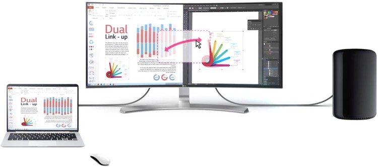 Am Bildschirm für Musiker zwei Computer gleichzeitig bedienen