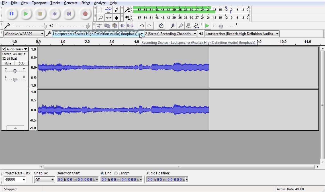 FAQ: Den kompletten Windows Sound aufnehmen - delamar