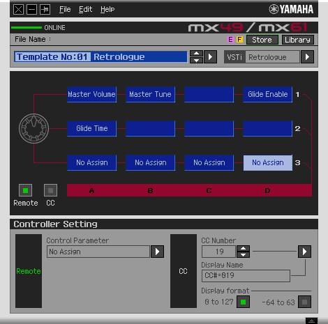 Yamaha MX61 BU Testbericht