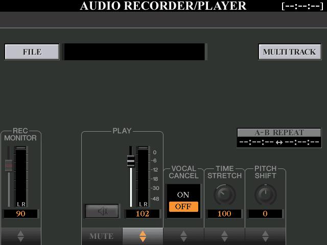 Review: Yamaha Tyros 5 - Audio Recorder