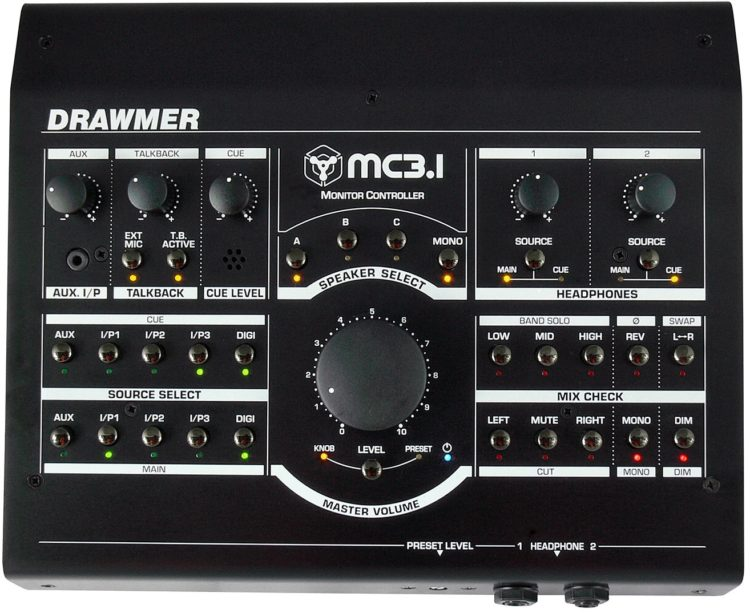 Drawmer MC3.1 Test