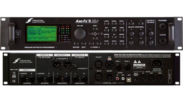 Gitarren-Recording - Fractal Axe-FX II XL+