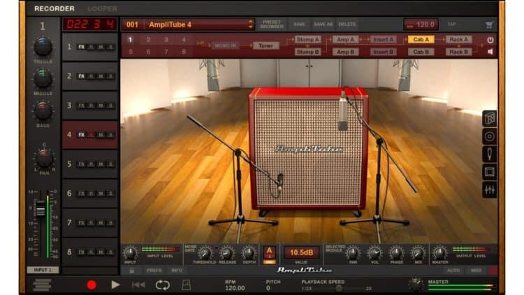 Gitarren-Recording - IK Multimedia AmpliTube 4