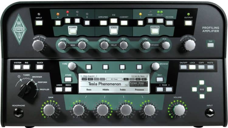 Gitarren-Recording - Kemper Profiling Amplifier