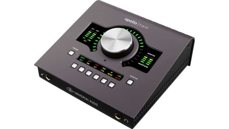 Gitarren-Recording - Universal Audio Apollo Twin MkII