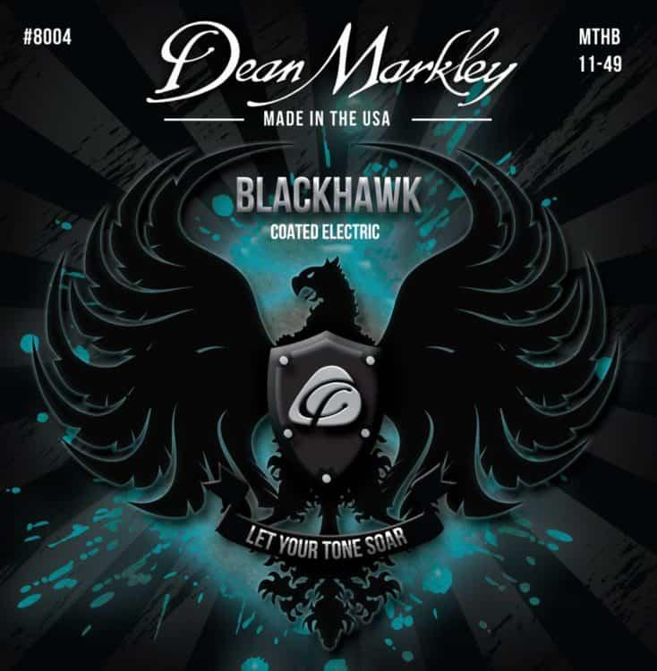 Gitarrensaiten Ratgeber - Dean Markley Blackhawk Coated Electric