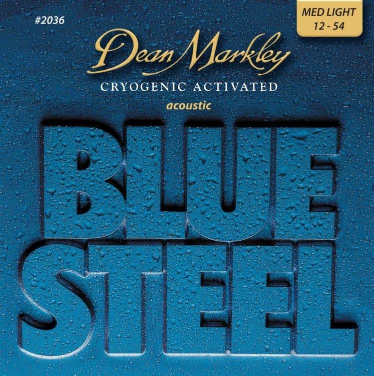 Gitarrensaiten Ratgeber - Dean Markley Blue Steel Acoustic