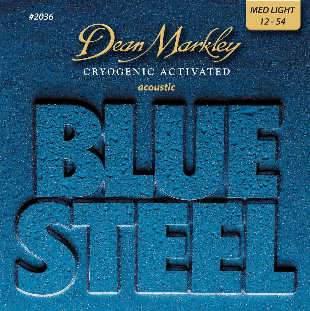 Gitarrensaiten Ratgeber - Dean Markley Blue Steel Acoustic