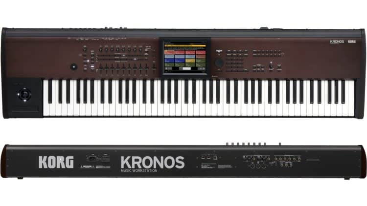 Musikmesse Synthesizer Keyboards Workstations - Korg Kronos LS