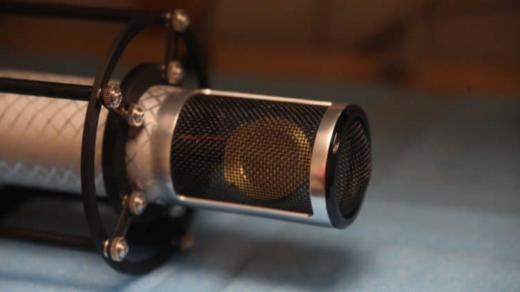 Manley Reference Silver Microphone