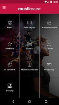 Musikmesse Navigator - Offizielle Apps