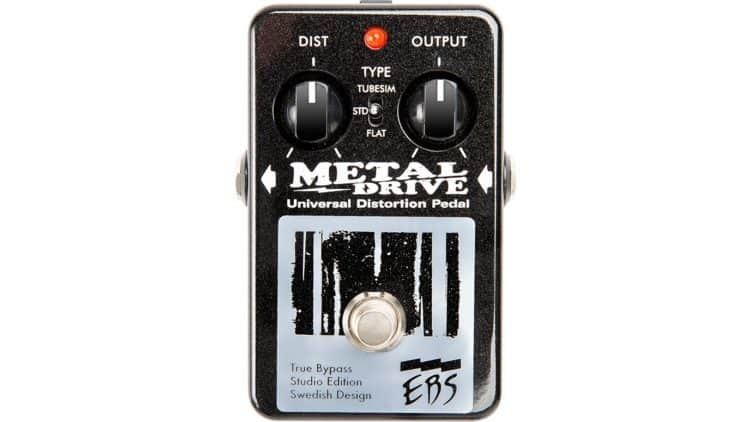 Pedal (Gitarre) - EBS MetalDrive Studio Edition