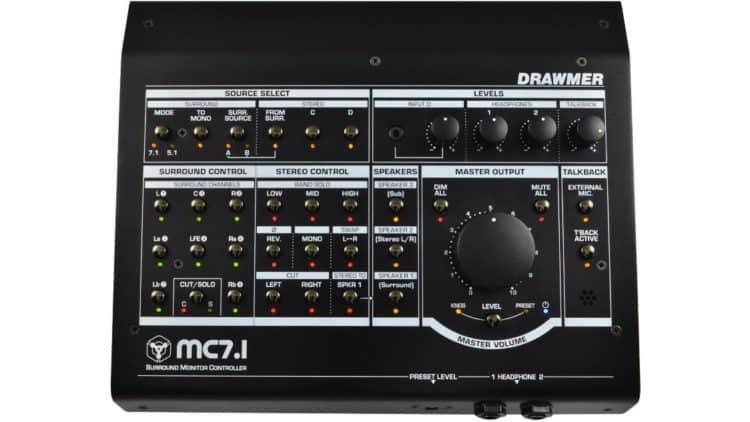 Musikmesse Studio Equipment - Drawmer MC7.1