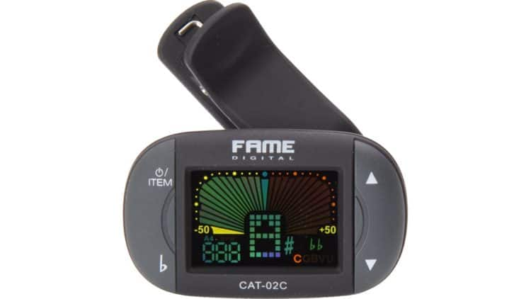 Fame CAT-02C Clip-on Tuner Chromatic