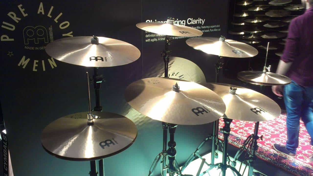 Meinl Pure Alloy Series