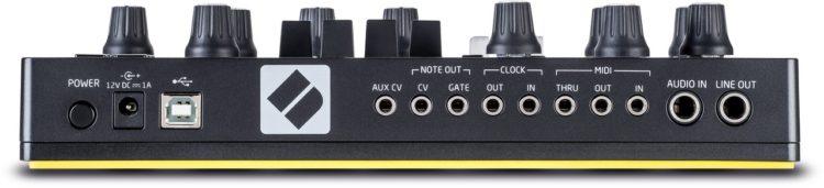 Rückansicht - Novation Circuit Mono Station