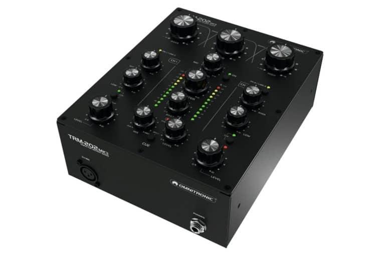 DJ-Highlights - Omnitronic TRM-202 MK3
