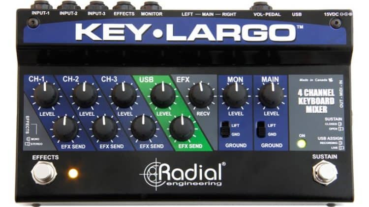 Radial Key-Largo