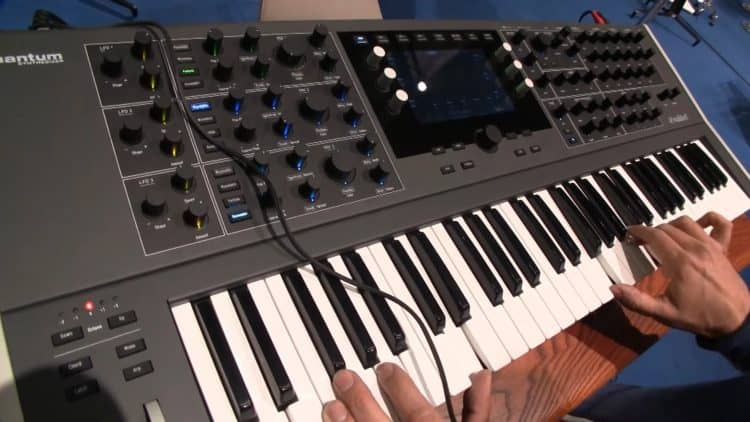 Musikmesse Keyboards Workstations Synthesizer - Waldorf Quantum