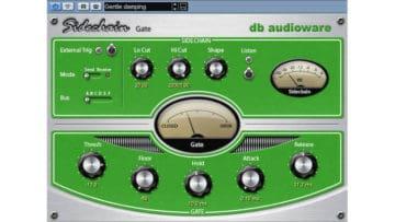 db audioware Sidechain Gate