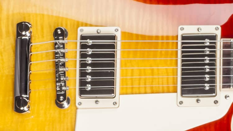 Hardware & Pickups der Gibson Les Paul Traditional 2017 T