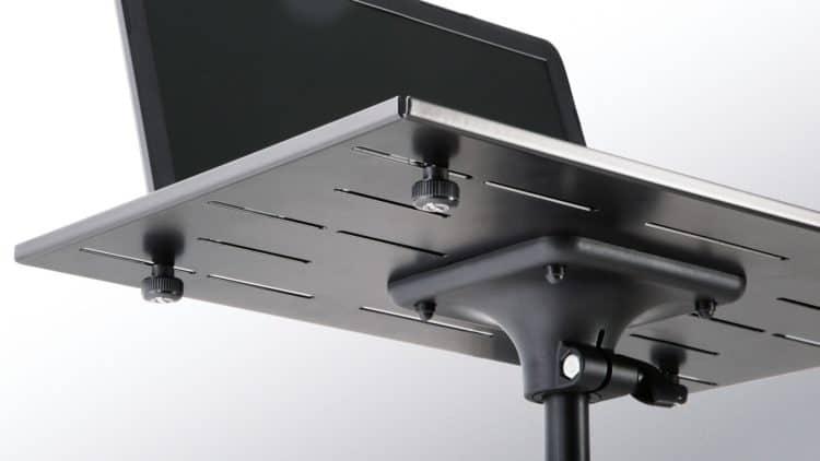König & Meyer Laptop-Ständer 12185 Review - Höhenverstellbar und mit drehbarer Auflagefläche