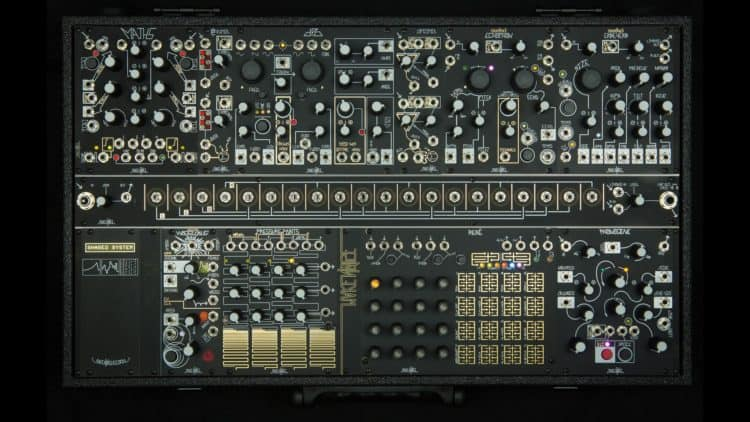 Modularer Synthesizer - Modular-System Make Noise Black & Gold Shared System