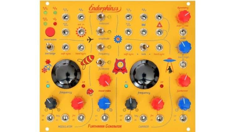 Modularer Synthesizer - Endorphin.es Furthrrrr Generator